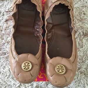 Tory Burch Shelby flats size 7