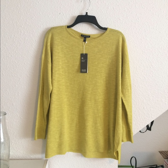 Eileen Fisher Sweaters Flash Sale Nwt Linen Sweater Poshmark