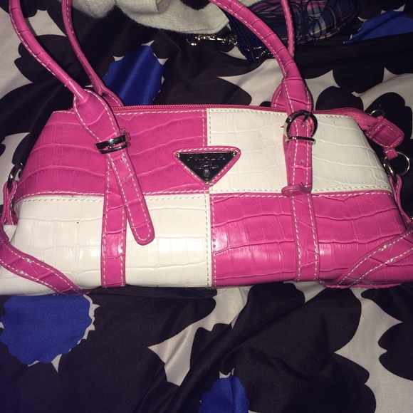 60% off Handbags - pink and white Prada purse, NEVER USED from ...