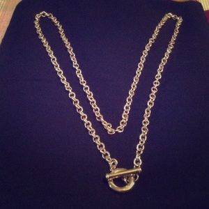 Authentic GIVENCHY GOLD TONE NECKLACE