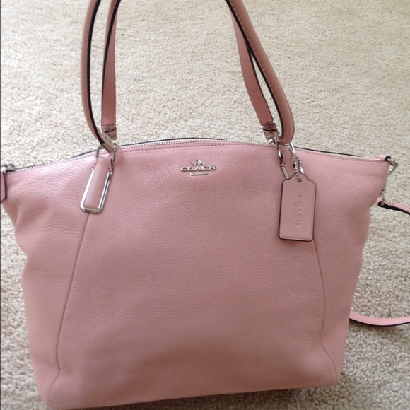 5134aab2186b ... where can i buy coach large kelsey satchel in blush nwt 31a98 0646f