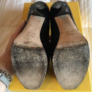 0191782d52a0 FENDI Shoes - 🌟2X HOST PICK🌟 Fendi black Nappa pumps FIRM