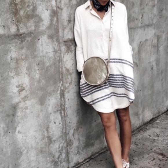 Beautician tunic white dress
