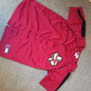 Nike Tops - Nike Astros button down jersey Youth sz m (10/12)