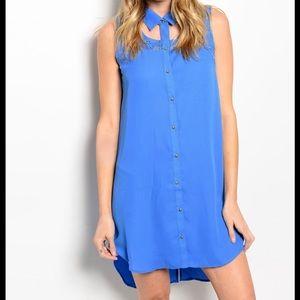 ❗️Button Down Lace Slip Dress