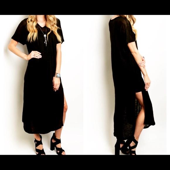 b946436e7b4e1f FashionBohoLoco Dresses | Restocked Little Black Slip Dress Lbd Nwot ...