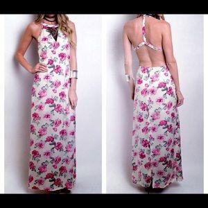 FashionBohoLoco Dresses & Skirts - 📸 FLASH SALE! 📸 Floral Tank Slip Dress NWOT