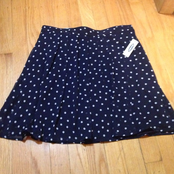 40 navy dresses skirts blue with white polka