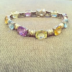 Jewelry - Sterling and semi precious stone bracelet