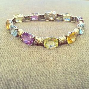Jewelry - Sterling and semi precious stone bracelet