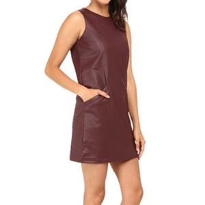 Jack by BB Dakota Dresses & Skirts - Leather dress