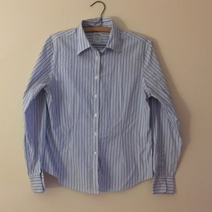Brooks Brothers Tops - Brooks brothers 10 cotton striped button down