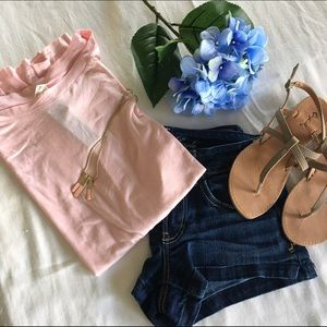 April Spirit Tops - 🍍SALE🍍Loose fit pink top