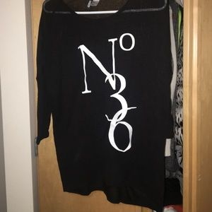 Thin black sweater from H&M