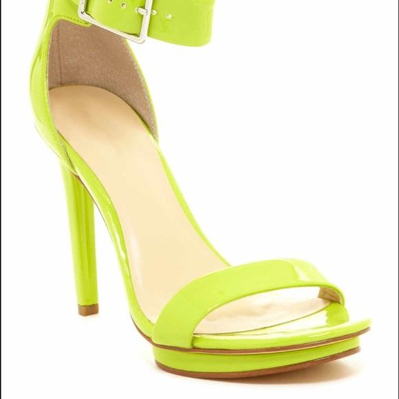 5dbec88e6939 Calvin Klein Shoes - Calvin Klein Vivian Patent Buckle Heel