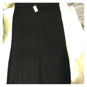 NWT Express skirt with front slit