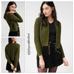 Urban Outfitters UNIF Chloe Cardigan Sweater