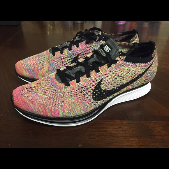 promo code 39807 c2a95 Nike Flyknit Racer Multicolor 3.0  9.5