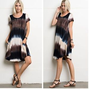 •tie dye dress•RESTOCKED•