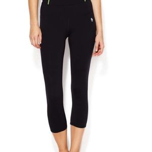 Brand New Ellie little black workout Capri Xs