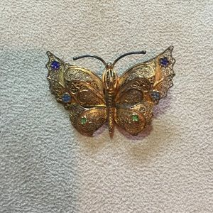 Other Jewelry - Vintage Butterfly Pin