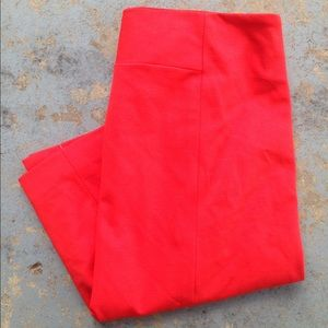Grace Elements Dresses & Skirts - Grace Elements Red Stretch Pencil Skirt