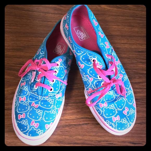 1f48ae54c Vans Shoes | Hello Kitty Kids Size 3 Fits Womens 6 | Poshmark
