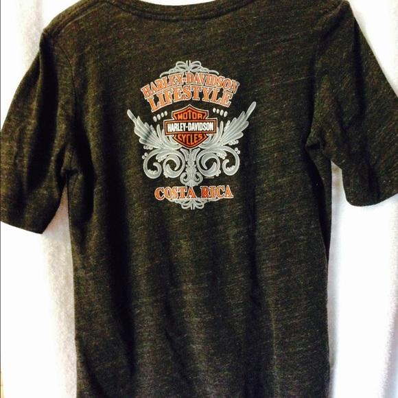 598953d9523624 Harley-Davidson Tops - Harley Davidson Costa Rica T-shirt