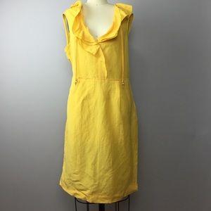 Elie Tahari Dresses & Skirts - Elie Tahari Linen Blend Dress 10
