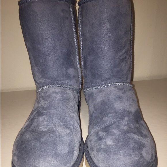ugg bailey button triplet dolphin blue