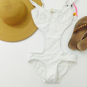 Coco Rave Other - One Piece Swim Suit 32C White