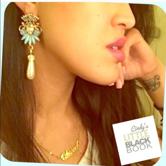 CindyLBB Jewelry - 💙 Princess Blue Earrings 💙