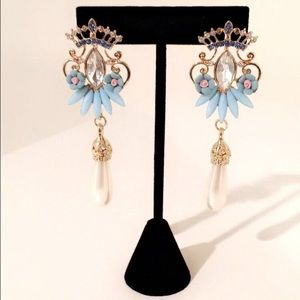  Princess Blue Earrings 