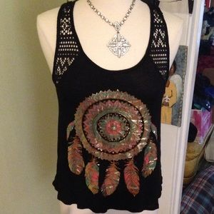 Annabelle  Tops - Dream Catcher Tank NWT