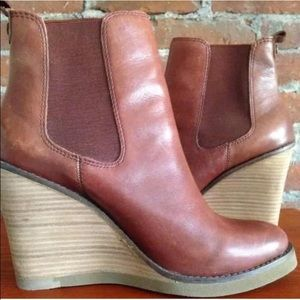 Lucky Brand Shoes - Lucky Brand Fedora Boots ~ Congac