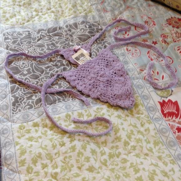 Swim Final Price Crochet Thong Bikini Bottom Poshmark