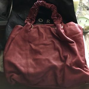New Fiore leather bag