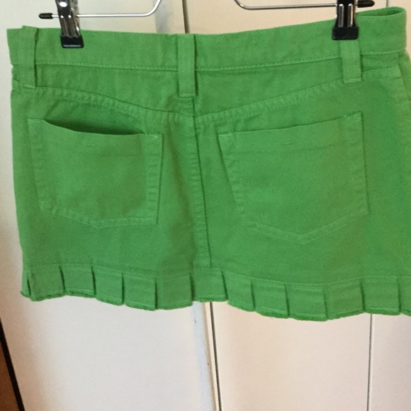 Juicy Couture - Juicy couture green jean skirt from Melissa's ...