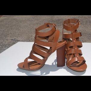 💥 Chunky Gladiator Heels 💥