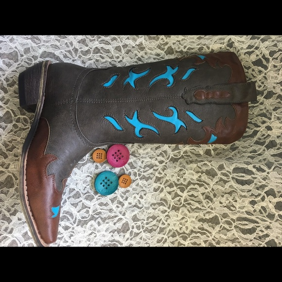 6960ad4fd62 Frisco Corkys western style cowboy boots women's Boutique