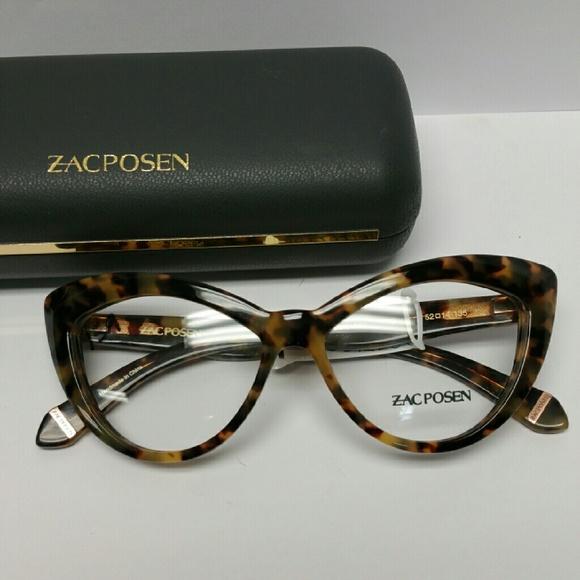 761b24a03cd Zac Posen Verushka Glasses. M 573f43d72599fee42d005ca8