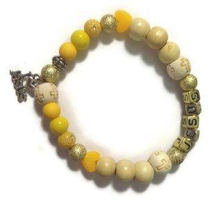 Jewelry - I 💛 Jesus Charm Bracelet