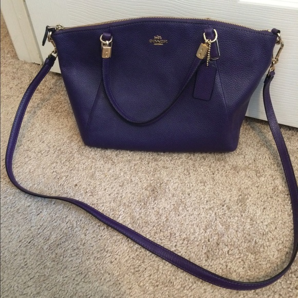 1f9db27ee Coach Handbags - COACH Small Kelsey Satchel In Pebble Leather-NEW!