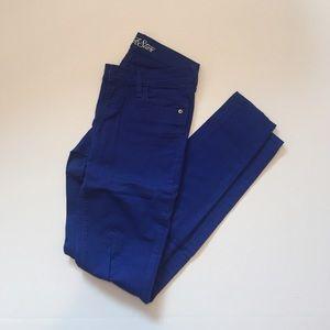 Cobalt Blue skinny jeans
