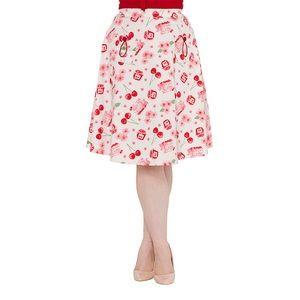 Kitschy Cherry Pinup Skirt