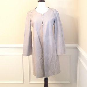 Giorgio Armani Leather Coat
