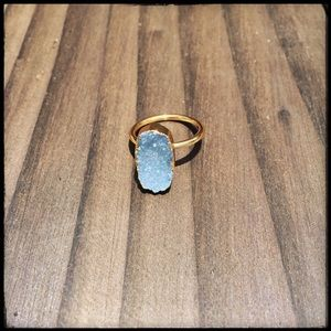Jewelry - Natural Stone Druzy Ring