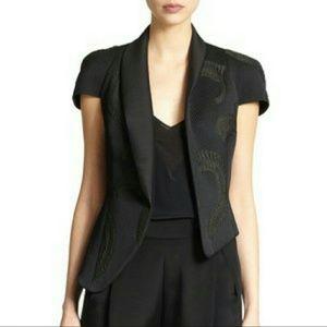 3.1 Phillip Lim Jackets & Blazers - Assimetrical Fern Embroidered Cloque Jacket