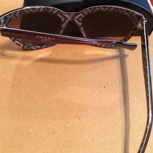 fa4ce3ed28f1 Prada Accessories - Prada Cat Eye Sunglasses Purple SPR 05P Never Worn