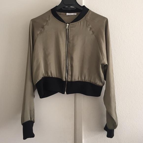 49% off Zara Jackets & Blazers - Zara w&b short bomber jacket from ...